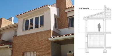 Ampliación de vivienda en Ugena (Toledo)